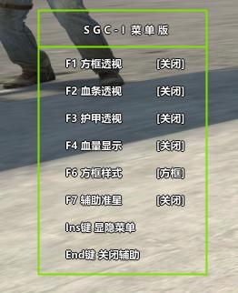 【CSGO】SGC软妹币-菜单版 1.7日 稳定官匹/过OBS