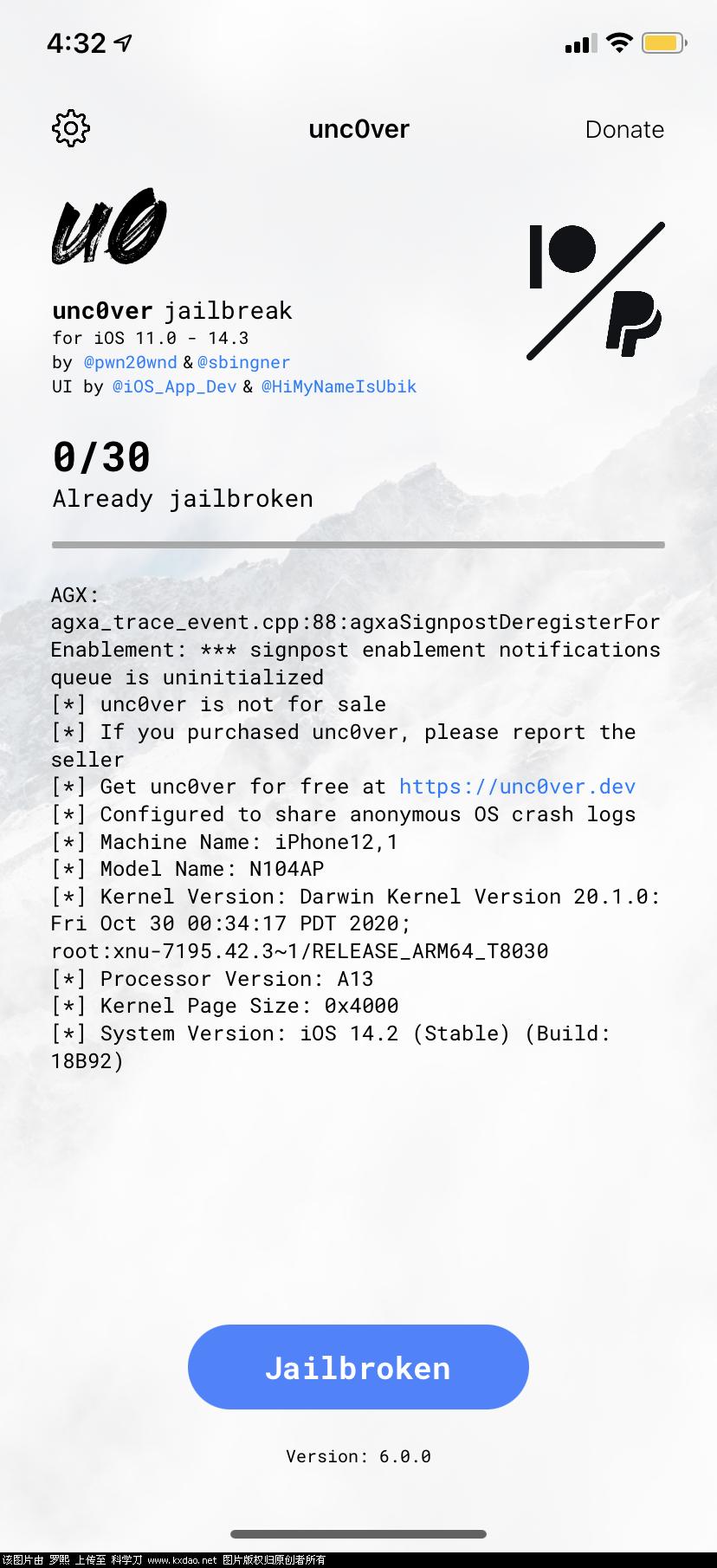 iOS14.0-14.3最新越狱教程插图1
